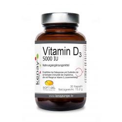 Vitamin D 5000 IU (30 Kapseln) – Nahrungsergänzungsmittel