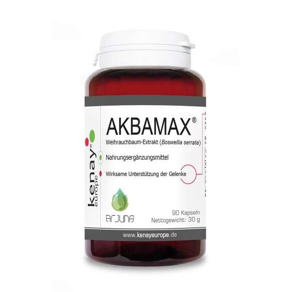 AKBAMAX® Weihrauchbaum-Extrakt (Boswellia serrata) 90 Kapseln - Nahrungsergänzungsmittel