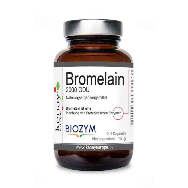 Bromelain 2000 GDU ( 30 Kapseln) - Nahrungsergänzungsmittel