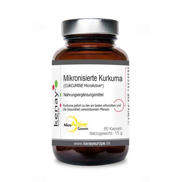 CURCUMINE MicroActive® (mikronisierte Kurkuma), (60 Kapseln) - Nahrungsergänzungsmittel
