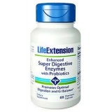 Enzyme mit Probiotika Enhanced Super Digestive LifeExtension (60 Kapseln)