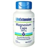 Magnesium 500mg LifeExtension (100 Kapseln)