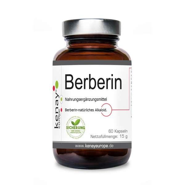 Berberin HCL (60 Kapseln) – Nahrungsergänzungsmittel