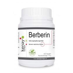 Berberin HCL (300 Kapseln) – Nahrungsergänzungsmittel