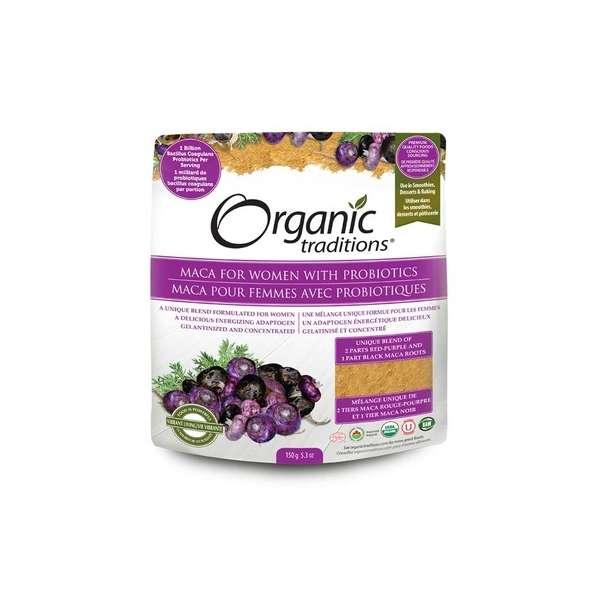Maca mit Probiotika für Frauen (150 g)