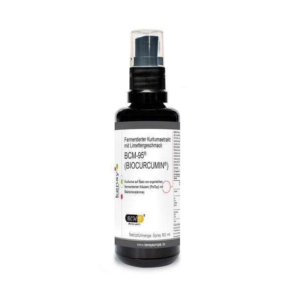 Fermentierter Kurkumaetrakt BCM-95® (BIOCURCUMIN ®) mit Limettengeschmack 50 ml