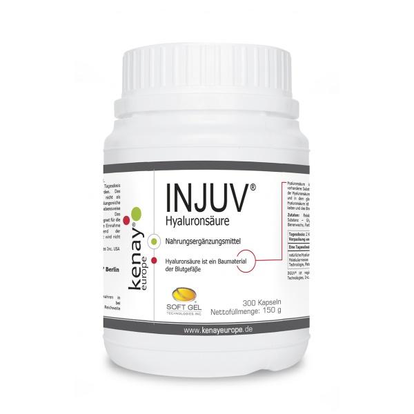 INJUV® Hyaluronsäure (300 Kapseln) - Nahrungsergänzungsmittel