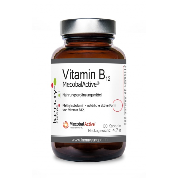 Vitamin B12 MecobalActive® 30 Kapseln - Nahrungsergänzungsmittel