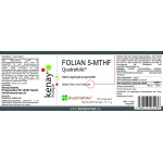 FOLIAN 5-MTHF Quatrefolic® 30 Kapseln - Nahrungsergänzungsmittel