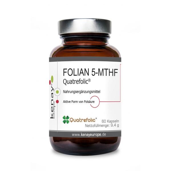 FOLIAN 5-MTHF Quatrefolic® 60 Kapseln - Nahrungsergänzungsmittel