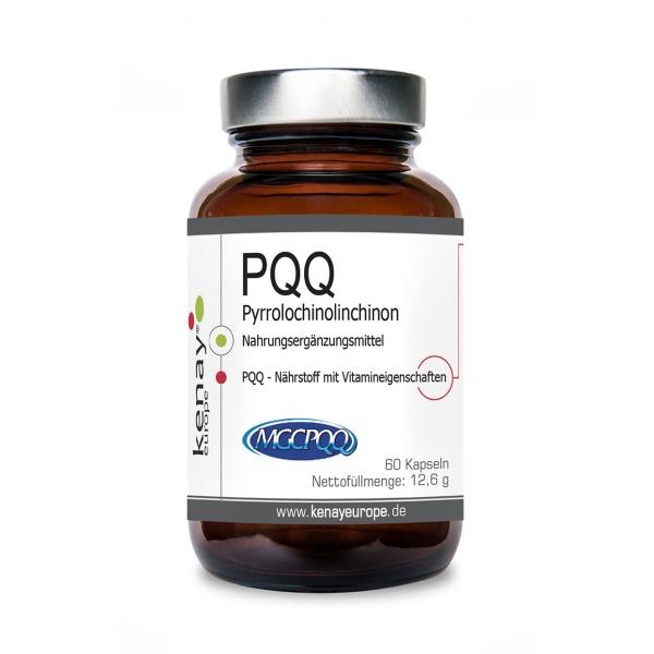 PQQ Pyrrolochinolinchinon (60 Kapseln) - Nahrungsergänzungsmittel