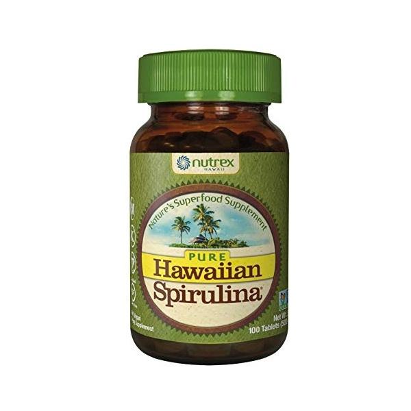 Hawaiian Spirulina® HAWAIISPIRULINA PACIFICA 500 mg (100 Tabletten) – Nahrungsergänzungsmittel