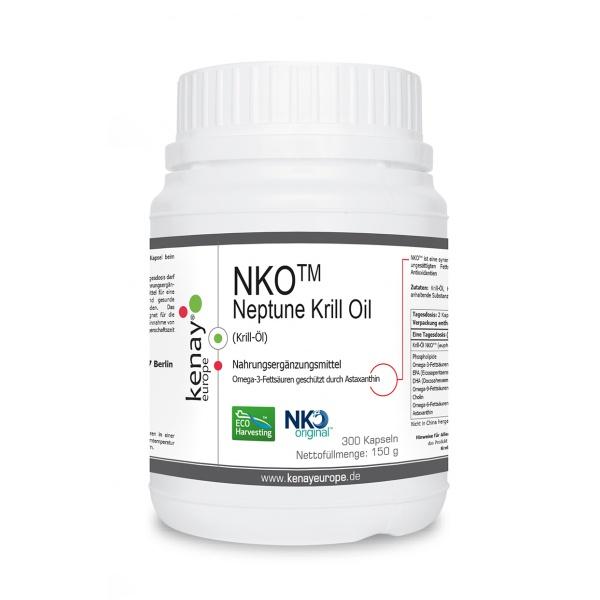 NKO™ Neptune Krill Oil (Krill-Öl) (300 Kapseln) - Nahrungsergänzungsmittel