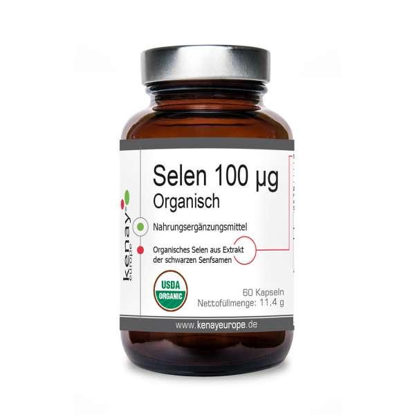 Selen 100 µg Organisch 60 Kapseln - Nahrungsergänzungsmittel