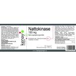 Nattokinase 100 mg (60 Kapseln) - Nahrungsergänzungsmittel