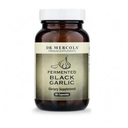Fermentierter schwarzer Knoblauch (Dr. Mercola) (60 Kapseln) – Nahrungsergänzungsmittel