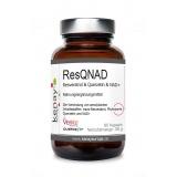 ResQNAD Resveratrol & Querzetin & NAD+ (60 Kapseln) - Nahrungsergänzungsmittel