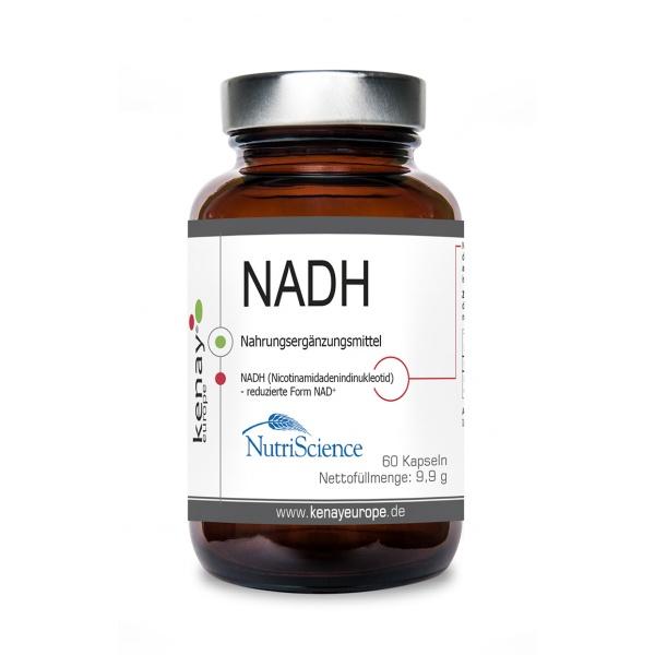 NADH Nicotinamidadenindinukleotid (60 Kapseln) - Nahrungsergänzungsmittel