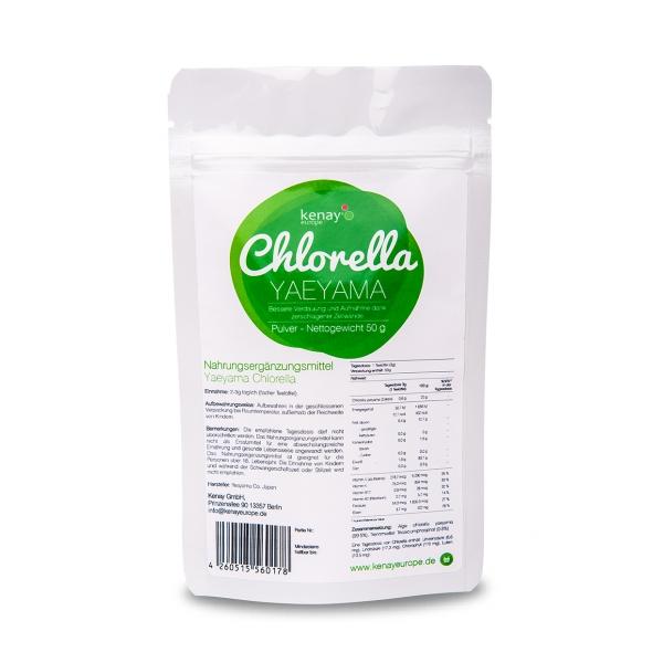 Chlorella Yaeyama (50g) - Nahrungsergänzungsmittel