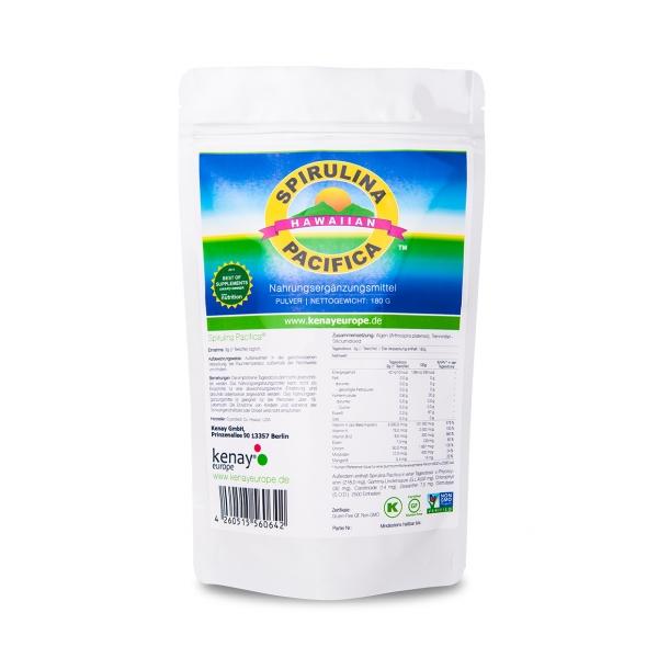 Spirulina Pacifica® 180g (Pulver) - Nahrungsergänzungsmittel