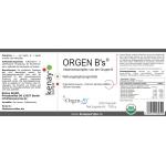 ORGEN B's® Vtaminenkomplex von der Gruppe B (240 Kapseln) - Nahrungsergänzungsmittel