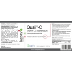 Quali-C® Vitamin C L-Ascorbinsäure - Nahrungsergänzungsmittel
