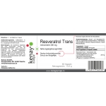 Resveratrol mikronisiert 200 mg (60 Kapseln) - Nahrungsergänzungsmittel