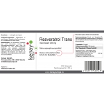 Resveratrol mikronisiert 200 mg (300 Kapseln) -Nahrungsergänzungsmittel