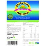 Spirulina Pacifica 500mg (180 Tabletten) - Nahrungsergänzungsmittel