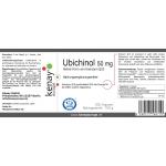 Ubichinol (Aktive Form von Koenzym Q10) 50 mg 300 Kapseln - Nahrungsergänzungsmittel