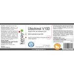Ubichinol V100 Aktive Form von Koenzym Q10 (60 Kapseln) - Nahrungsergänzungsmittel