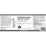 Nattokinase 100 mg NSK-SD™ (60 Kapseln) - Nahrungsergänzungsmittel