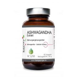 ASHWAGANDHA - Extrakt (60 Kapseln) - Nahrungsergänzungsmittel