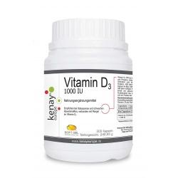 Vitamin D 1000 (300 Kapseln) - Nahrungsergänzungsmittel